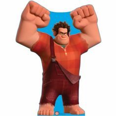 Wreck It Ralph Life Sized Cardboard Cutout $34.95