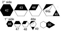 From Marti Michell: Hexagon Template Sets
