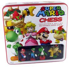 Super Mario Chess Collector's Edition Tin
