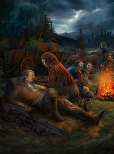 Witcher fanart!!! original charakters by Witcher game, CD Project Red Sorry, i dont do prints, its just Fanart for fun ~ My gallery is Copyright © 2009-2015 Hollow-Moon-Art. All rights reserve...