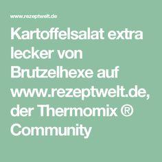 Kartoffelsalat extra lecker von Brutzelhexe auf www.rezeptwelt.de, der Thermomix ® Community