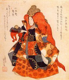 Utagawa Kuniyoshi - Parallel Library