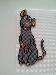 Ratatouille hama mini perler by Pia Thomadsen