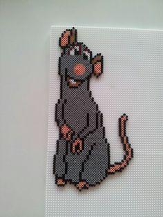 Ratatouille hama mini perler by Pia Thomadsen