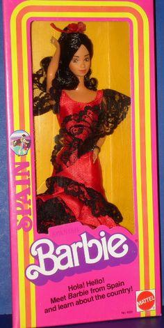 1980 DOTW Spain Barbie