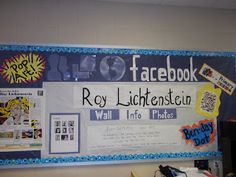 Happily Ever After...An Art Teacher's Fairy Teal: Facebook Bulletin Board