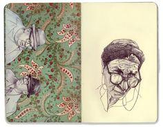 Sketchbook vol.1 - Jason Ratliff. Ilustración   Illustration