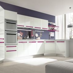 White kitchen: ideas, tips and examples. Part 1