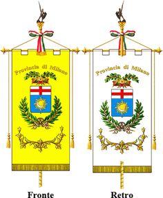 GONFALON PROVINCE OF  - MILANO (MI)