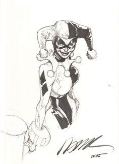 Harley Quinn by Humberto Ramos