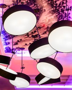 America Restaurant lighting by Viso, Toronto   Canada restaurant ceiling light