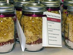Texas 2-Step Soup Mix in a Jar