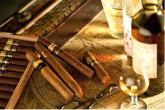 Cuban Cigar & Scotch