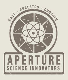 "the only correct way to say ""Aperture Laboratories"" is in a high fashioned British ascent."