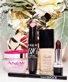 My 4 fave products for today's Bordeaux-inspired http://MEABEL.avonrepresentative.com #FOTD. #ANEWyou #AvonRep