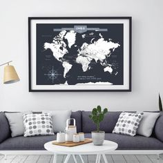 World travel map pin board with push pins where have you already world travel map pin board with push pins where have you already been and where will your wanderlust take you next conquest maps products pinterest gumiabroncs Images