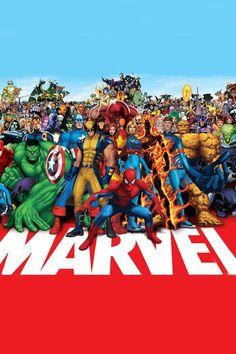 Todos los personajes mas importantes de Marvel. LOVE4EVER