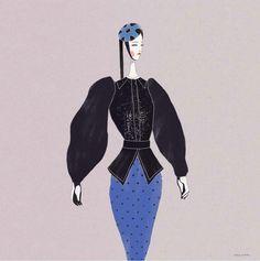 Velwyn Yossy's Fashion Illustrations - POCKO