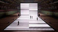 Ryoji Ikeda: The Transfinite - Uses of projection and simplicity