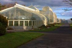 green houses | Old Greenhouses 1 -Botanic Gardens Dublin Ireland | Flickr - Photo ...