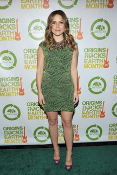 Sophia Bush's green dress.