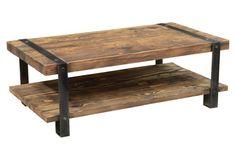 Sheldon Coffee Table w/ Shelf