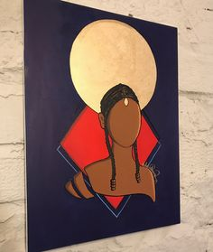 Original is NOT for sale currently Painting created by Addie Rawr Prints are ready frame Gloss paper Canvas Prints Thin wrapped canvas Single panel Ready to hang Black Art Painting, Black Artwork, Painting & Drawing, Art Africain, Afro Art, Dope Art, Diy Canvas Art, Urban Art, Art Pictures