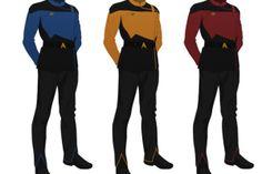 General , Star Trek Voyager Uniform Pattern : Star Trek Voyager Uniform Pattern