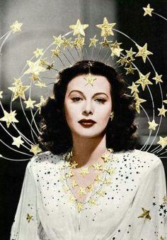 The beautiful Heddy Lamarr