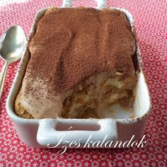 Ízes kalandok: Gesztenyés tiramisu Tiramisu, Poppy Cake, Health Eating, Cake Cookies, Nutella, Sweet Tooth, Food And Drink, Cooking Recipes, Ice Cream
