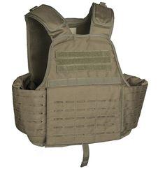 Laser Cut Carrier Weste, oliv / mehr Infos auf: www.Guntia-Militaria-Shop.de