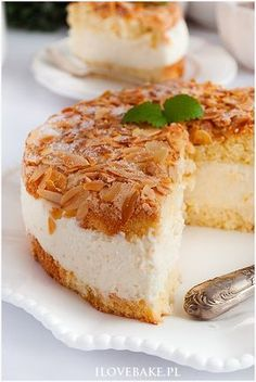 Cake bee sting - I Love Bake Polish Desserts, Polish Recipes, Cheesecake Recipes, Cookie Recipes, Dessert Recipes, My Favorite Food, Favorite Recipes, Amazing Cakes, Delicious Desserts