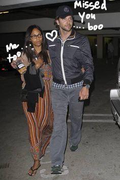 Bradley Cooper Zoe Saldana Dating Again