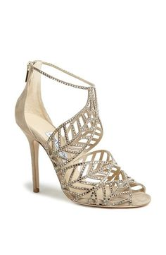 Shoe wishlist- I WISH!: Jimmy Choo caged leaf sandal