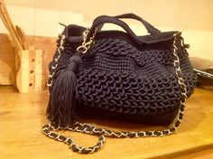 Croched bag by lana samkharadze