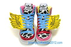 Cheap Wholesale Jeremy Scott 2NE1 JS Wings Adidas Shoes 2012 -2012jeremyscott20.com