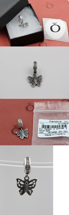 Charms and Charm Bracelets 140944: Genuine Pandora Love Takes Flight Clear Butterfly Dangle 791255Cz With Tag And Box -> BUY IT NOW ONLY: $43 on eBay!