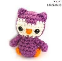 Tiny Owl Amigurumi