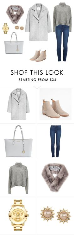 """1"" by mariamerzlyakova on Polyvore featuring мода, MANGO, Michael Kors, Paige Denim, Designers Remix, Accessorize, Movado и Carolee"