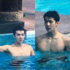 Sehun chest pool