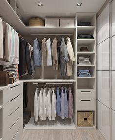50 ideas bedroom closet design layout walks for 2019 Master Closet Design, Master Bedroom Closet, Bedroom Wardrobe, Wardrobe Closet, Built In Wardrobe, Small Closet Storage, Closet Built Ins, Closet Small, Bedroom Storage
