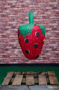 Strawberry Piñata. Exclusively at La Piñata Party. El Segundo, CA.