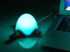 The LED Lamp with 3-Port USB Hub