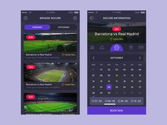 Soccer Reservation App by Shabbir Manpurwala