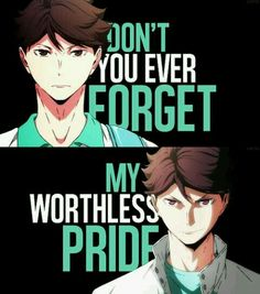 Oikawa Tooru: Still a badass even after he loses against Kurasuno, a young man who's changed for the better