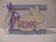Easter card by Courtney Lane Designs #cricut