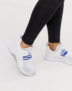 a46cf7de3773f4 Reebok Women's Training Guresu Sneakers Shoes In White And Blue | Clothing,  Shoes &