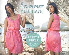 Breeya Dress- Old Khaki Must Have