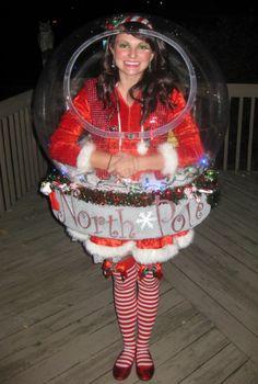 Diy christmas costumes playing dress up pinterest diy original snow globe costume that really snows homemade costumesdiy halloween costumeschristmas solutioingenieria Choice Image