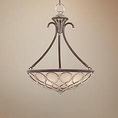 "Tuscan Elegance Collection 21"" Wide Pendant Light"